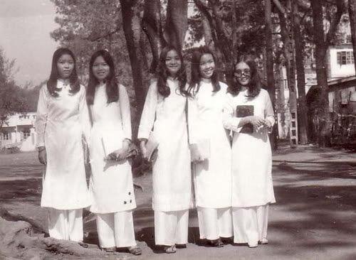 Vietnamese traditional dress - ao dai reglan