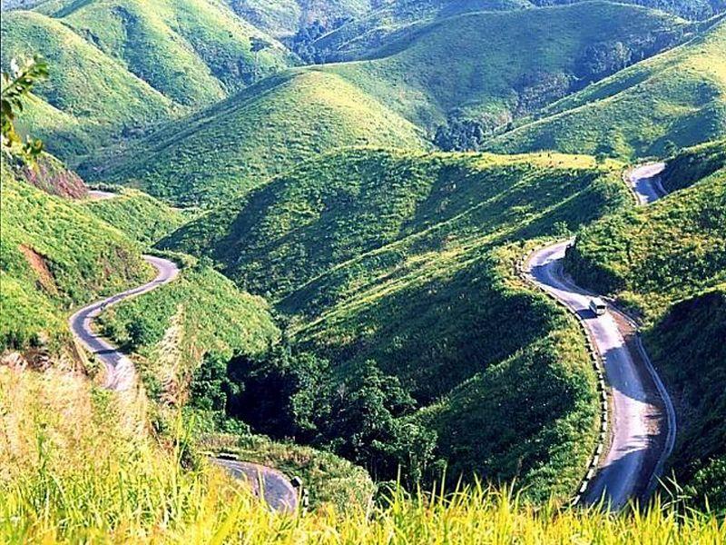 Pass in Dalat, Vietnam