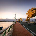 Dragon Bridge in Danang Vietnam