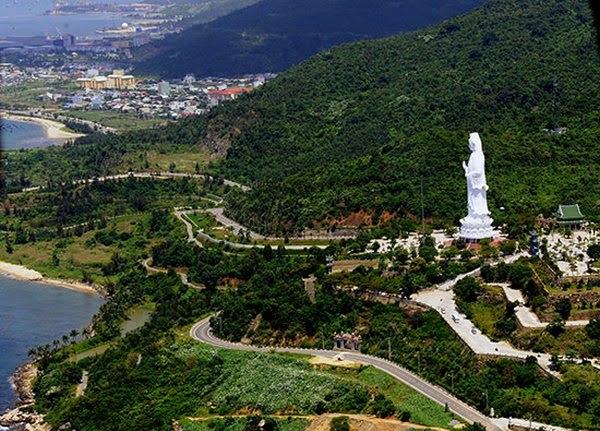 Lady Buddha Statue in Danang