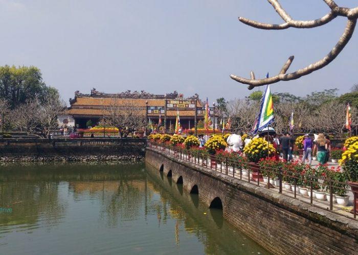 Imperial Citadel, Hue City, Vietnam