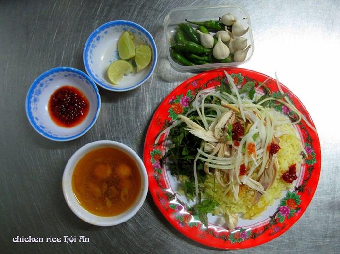 Chicken Rice in Hoi An, Vietnam