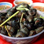 Hanoi Food - Hot Snails