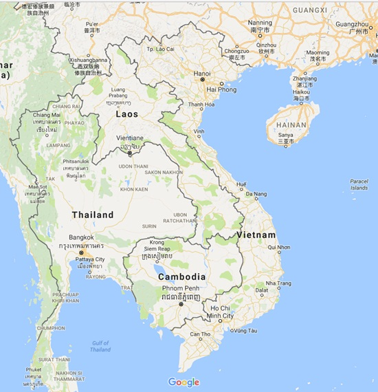 Where Is Vietnam In The World Map Vietnamdrive