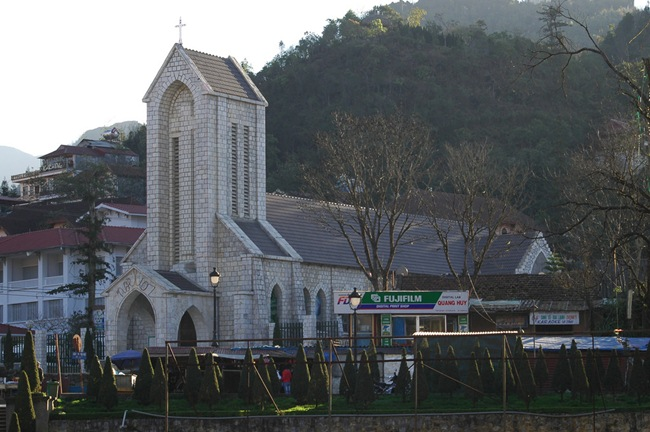 Stone Church in Sapa