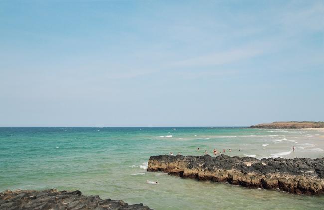 The wild beauty of Xep beach