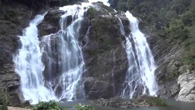 Minh Long White Waterfall, Quang Ngai