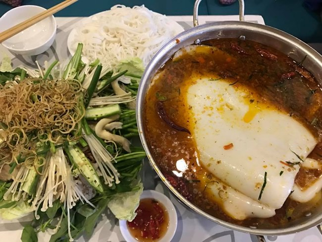 Hot pot Restaurant in Da Lat City