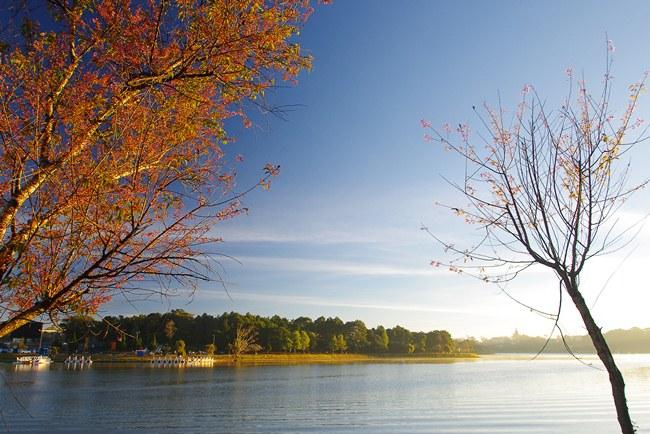 Xuan Huong Lake in Dalat Vietnam