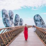 Golden Bridge in Bana Hills, Da Nang City