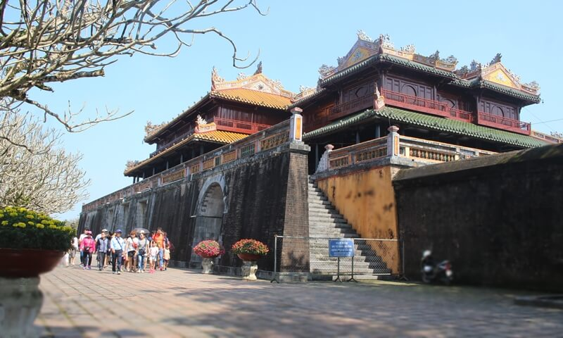 Imperial Palace in Hue City