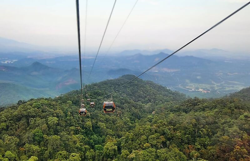 Cable Car in Ba Na Hills