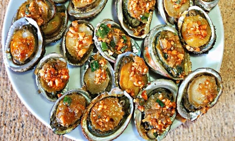 Local Food Cu Lao Cham Abalone