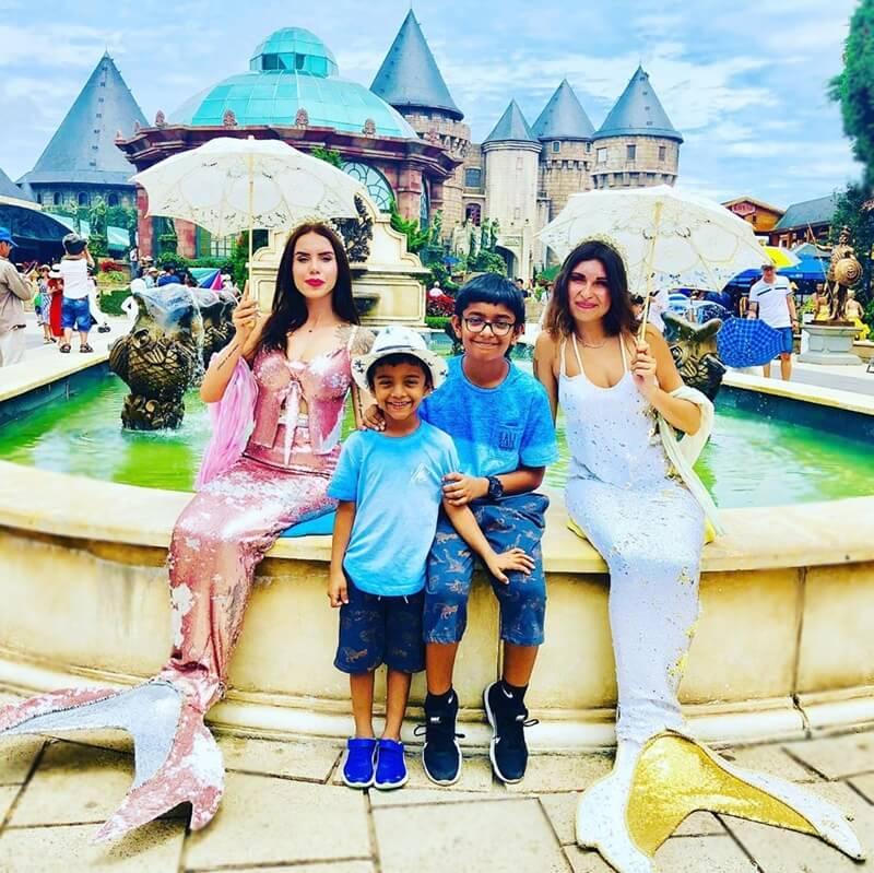 Fantasy Park in Ba Na Hills