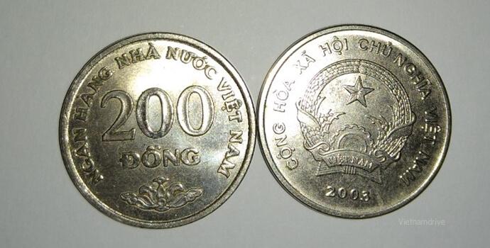 Vietnamese coin - 200 Dong