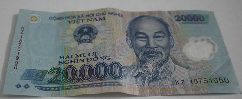 20,000 Vietnam Dong