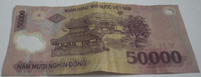 50,000 Vietnam Dong