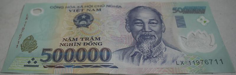 500,000 Vietnam Dong