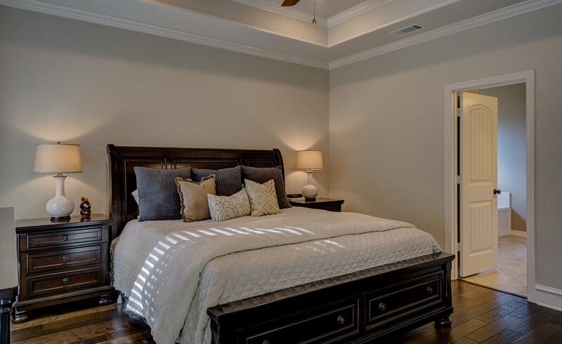 Feng Shui Bedroom Rules for doors