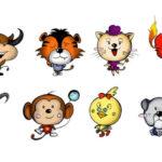 12 zodiac animals