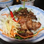 Bun Thit Nuong - Hue grilled pork noodle