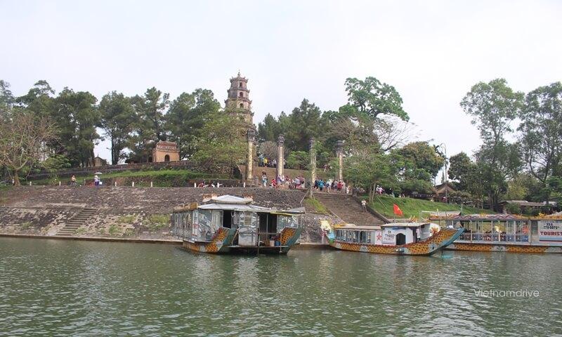 Heavenly Lady Pagoda in Hue