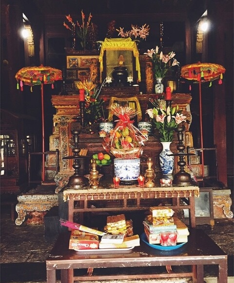 Hon Chen Temple in Hue