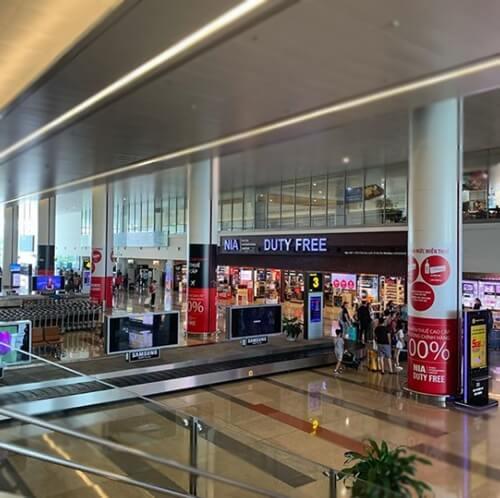 Shop in Noi Bai Airport