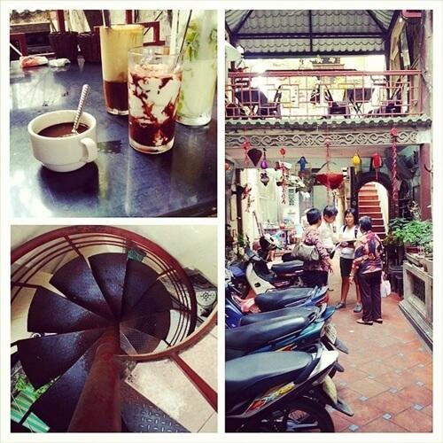Old Quarter Coffee Hanoi