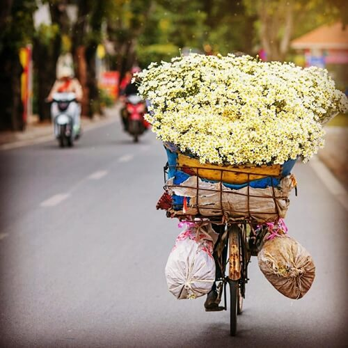 Hanoi Autumn is the best time to visit.