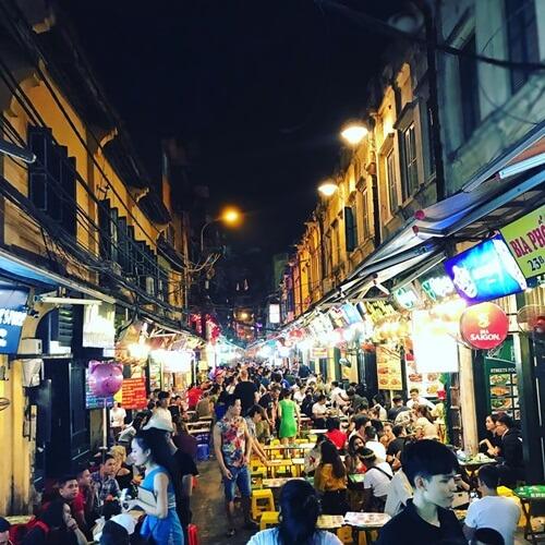 Ta Hen Beer Street Hanoi