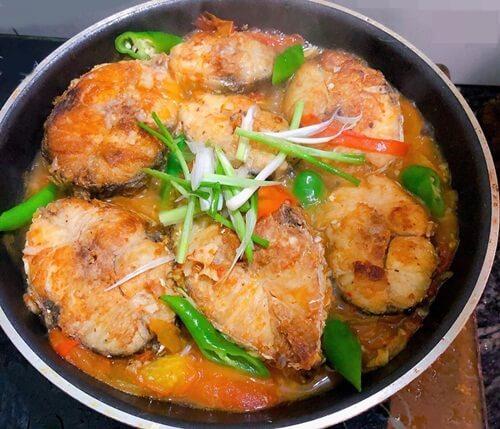 Vietnamese saltwater fish: Mackerel