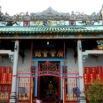 Thien Hau Old Temple in HCM Vietnam