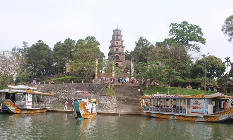 Thien Mu Temple Hue Vietnam
