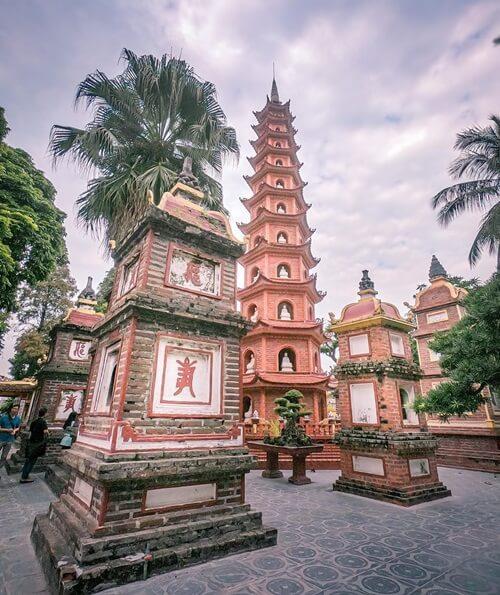 Tran Quoc Temple Hanoi Vietnam