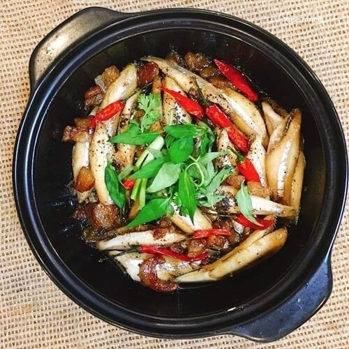 Vietnamese fish of Anchovy