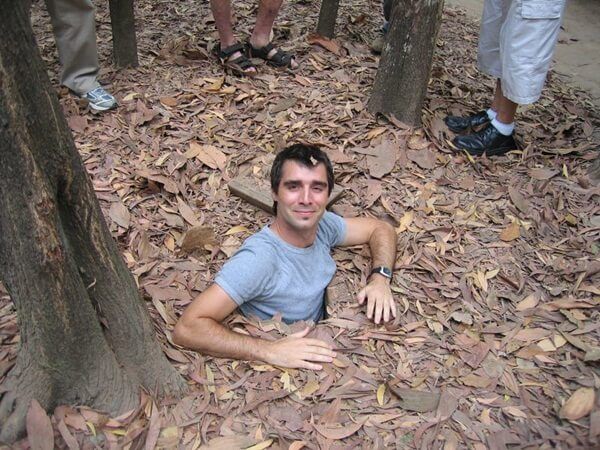 Cu chi tunnels in Ho Chi Minh