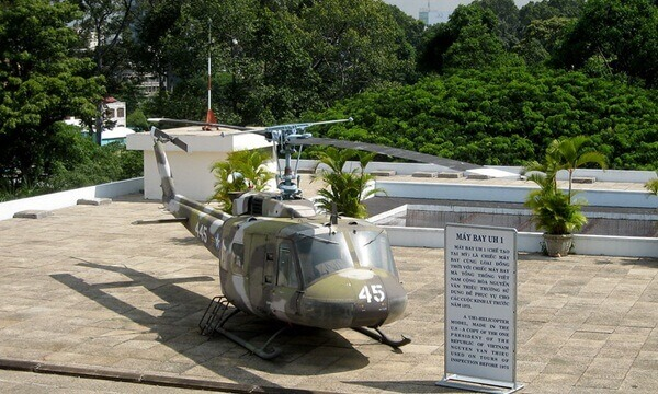reunification palace helicopter