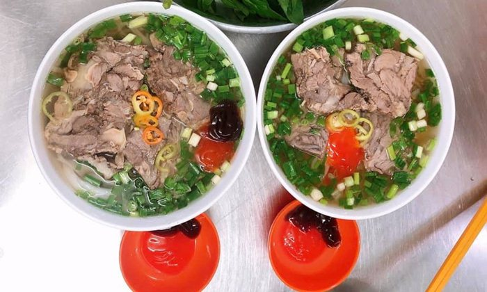 Pho restaurants in HCMC