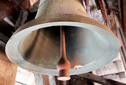 bell in notre dame church