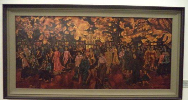 Xuan Ho Guom of painter Nguyen Tu Nghiem