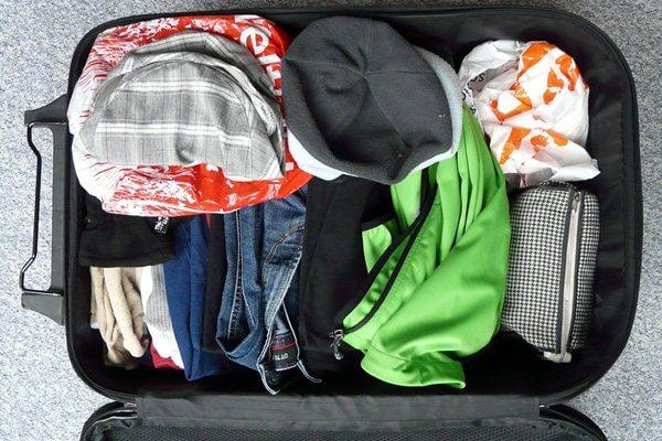 prepare luggage