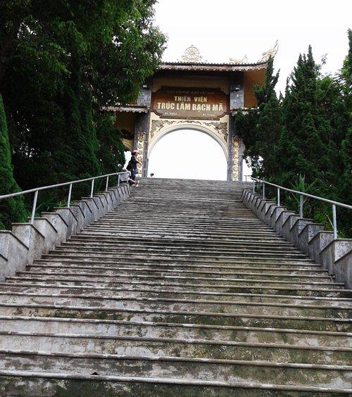 Truc Lam Bach Ma Gate