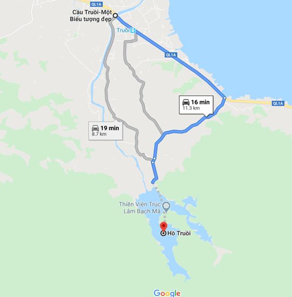 Truc Lam Bach Ma Map