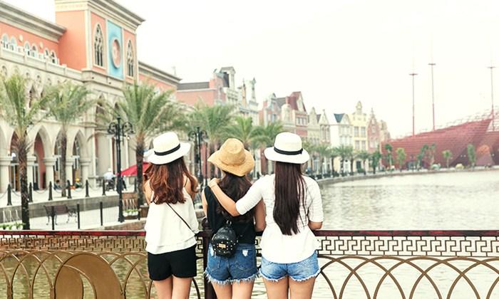 cultural port in Vinpearl Hoi An