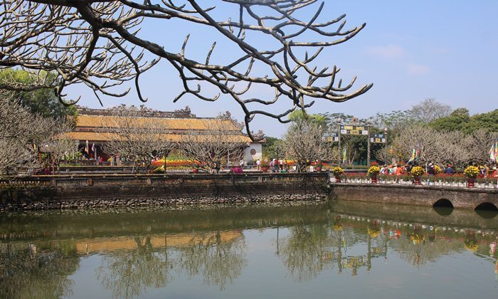 imperial palace of Hue