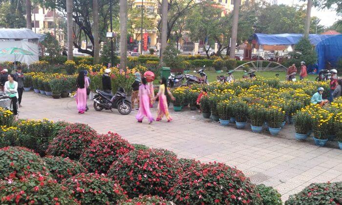 Tet Flower Market