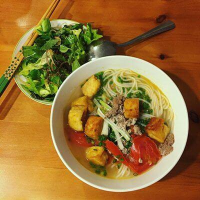 crab noodle hanoi