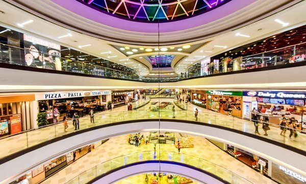 mall in saigon