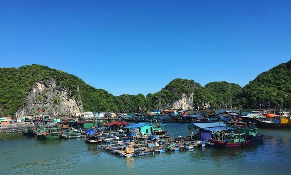 cai beo fishing village